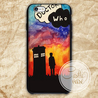 Doctor Who Amazing Art Brush Color iPhone 4/4S, 5/5S, 5C Series, Samsung Galaxy S3, Samsung Galaxy S4, Samsung Galaxy S5 - Hard Plastic, Rubber Case