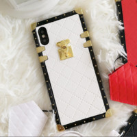 chanel print phone shell phone case for Iphone X