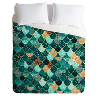 Monika Strigel Really Mermaid Duvet Cover