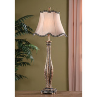 "Crestview Collection Avignon Buffet 36.5"" H Table Lamp With Bell Shade"