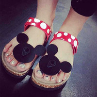 Minnie Mouse, Rabbit or Circle Sandals - 7 styles
