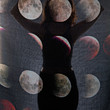 Blood Moon Phase Scarf