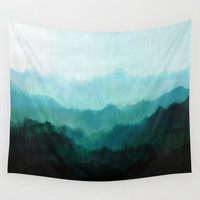 Mists No. 2 Wall Tapestry by Prelude Posters