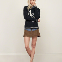 Tipped Statement Logo Sweater