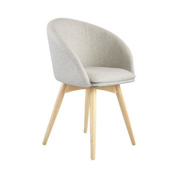 Semele Chair With Natural Legs