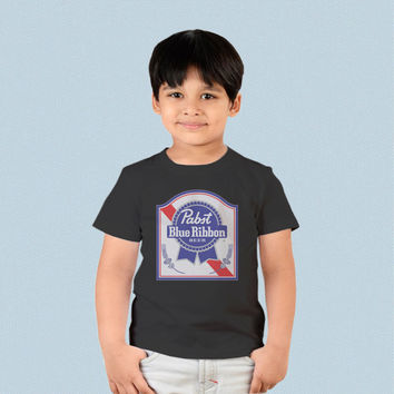 Kids T-shirt - Pabst Blue Ribbon Logo