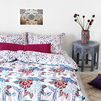 Magical Thinking Windy Floral Duvet Cover - Urban Outfitters