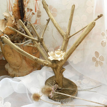 Wood candle holder-Branches candlestick-Wedding decor-tea light holder-decoration-wood centerpiece-tealight-lighting-Candleholders-Twigs