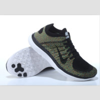 NIKE knitting flying line casual sports shoes Mottled