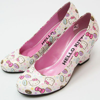 Hello Kitty Pink Pumps High Heel Wedding Shoes Kawaii SANRIO Japan Gift F/S