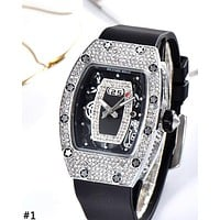 RICHARD MILLE 2019 new women's high-end full diamond ladies quartz watch #1