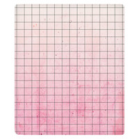 Pink Geometry Fleece Throw