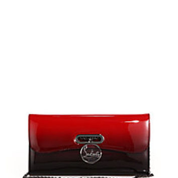 Christian Louboutin - Riviera Ombre Patent Leather Clutch - Saks Fifth Avenue Mobile