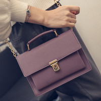 ZIWI Brand Small Messenger Bags Fashion European And American Style Girl Briefcase Lady Handbags SX087