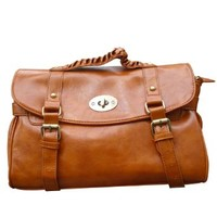 Fashion Street-chic Vintage Buckle Tote Casual Messager Shoulder Crossbody Bag