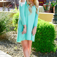 MY EVERYTHING TUNIC IN MINT