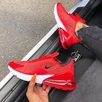 """New Nike Air Max 270 """"Red"""" Running Shoes 943345-600"""