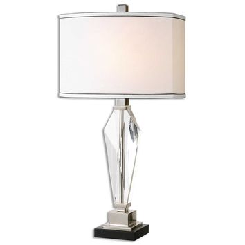 Altavilla Crystal Table Lamp By Uttermost