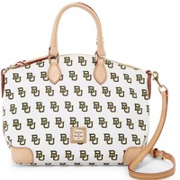 Dooney & Bourke Women's White Baylor Leather Satchel