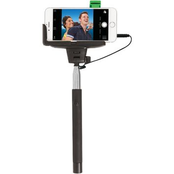 Retrak Iphone 4 And 5 And 5s And 6 And 6s & Samsung Galaxy S Iii And 4 Selfie Stick With Wired Shutter EMTSELFIEW