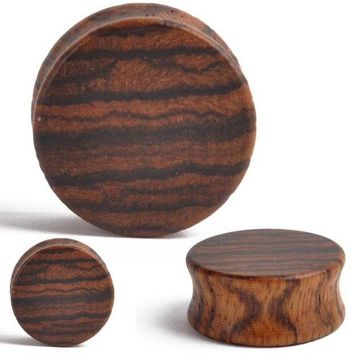 ac DCCKO2Q 2pcs Punk Wood Ear Plugs Gauges Tunnel Wooden Ear Expander Double Flared Saddle for Fashion Body Piercing Jewelry 8mm-30mm