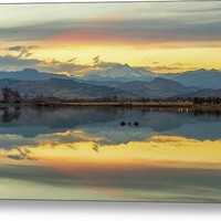 Marvelous Mccall Lake Reflections Metal Print