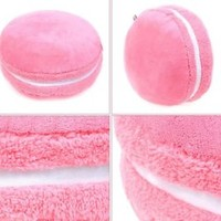 Bellamy Rose France macaron macaroon cookie shape pillow/cushion home decorate