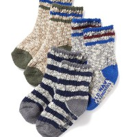 Old Navy Marled 3 Pack Boot Socks