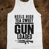Heels High Tea Sweet Gun Loaded