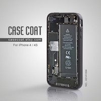 iPhone 4 Case, iPhone 4s Case - Cool, Circuit, Cool iPhone Case, Case for iPhone - A01A1004