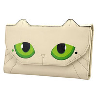 Beige Chic Cat PU Clutch Bag