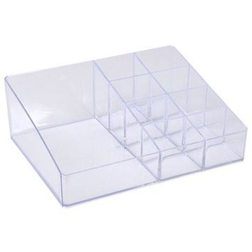 7-Compartment Acrylic Makeup/Vanity Organizer