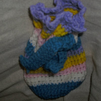 Handmade Crocheted gelt bag by CanadianCraftCritter on Etsy