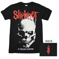 Slipknot Skull and Tribal T-Shirt Medium