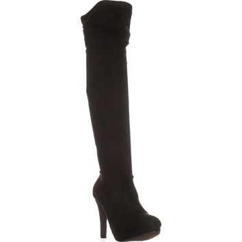 Report Narcissa Over-the-Knee Boots, Black, 7.5 US