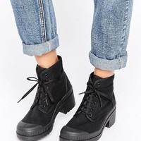 ASOS RENE Lace Up Ankle Boots at asos.com