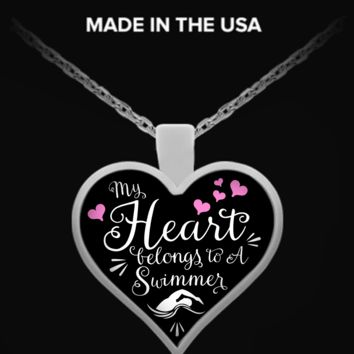 Swimming Heart Necklace mhsw