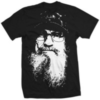New Si Face Shirt Duck Dynasty Reality TV Funny by AsgardShirts