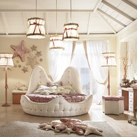 Classic style bedroom set for girls Stella Marina Cordage Collection by Caroti