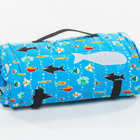 Toddler Organic Nap Mat - Sea Life