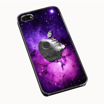 Star Wars Inspired Death Star Apple in Galaxy IPhone 5 | 5S 5C 4 | 4S Case