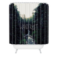 Leah Flores Wanderlust 1 Shower Curtain