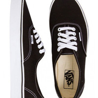 Vans Authentic Canvas Shoes Black