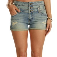 Bonfire Hi-rise Denim Shorts