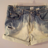 Made to Order Pastel Dyed Shorts