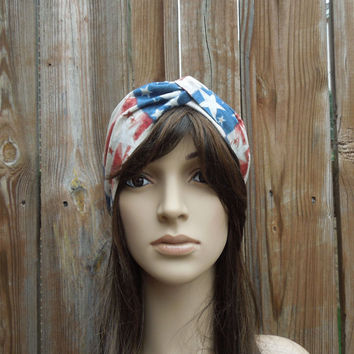 Patriotic Turban Headband