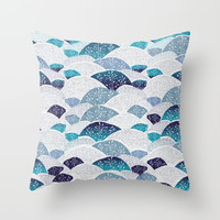 Hills and Hills Throw Pillow by rskinner1122