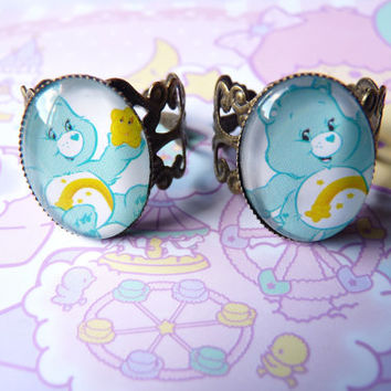 Wish Bear Care Bears Ring