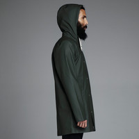Arholma Grön - Green Raincoat – Stutterheim Raincoats