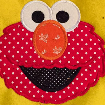 Sesame Street Elmo  Appliqued T Shirt Available from 12m to 14/16